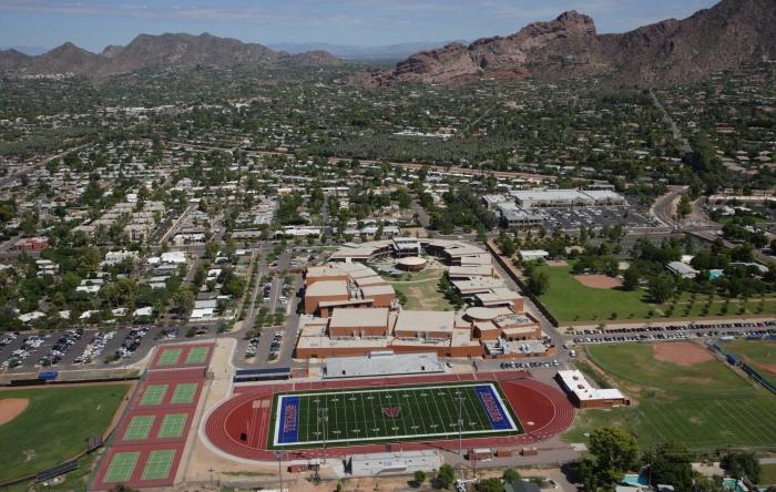 Arcadia HS football field Phoenix